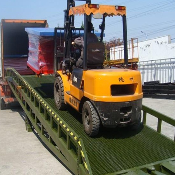 6T,8T,10T,12T,15T hydraulic container loading dock ramp lift