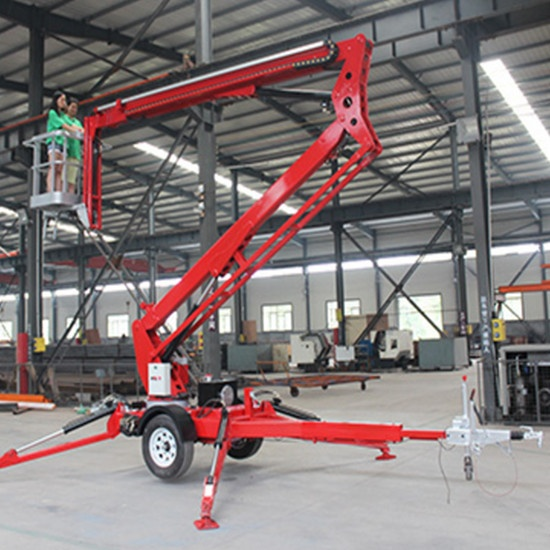 8m AC power articulating boom lift