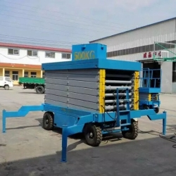 18m mobile scissor lift table