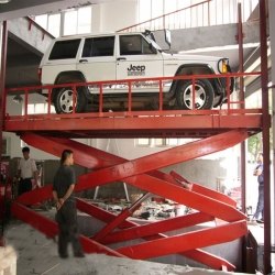 hydraulic scissor platform lifts for car