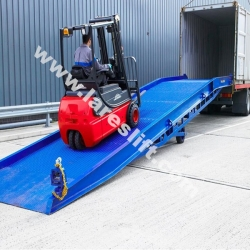 loading and unloading dock levellers