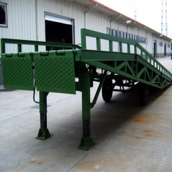 warehouse mobile dock ramps for truck