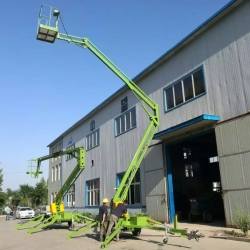 Towable man lift 14m