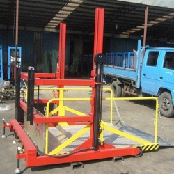 Truck Loading Platform Mobile Dock Lift