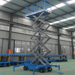 hydraulic mobile scissor lifts