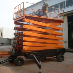 mobile scissor platform lifts