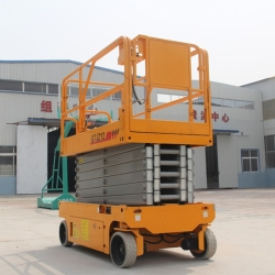 full electric scissor lift platform