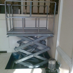 scissor disabled platform lift